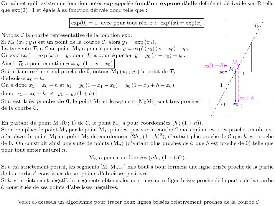 algobox exponentielle